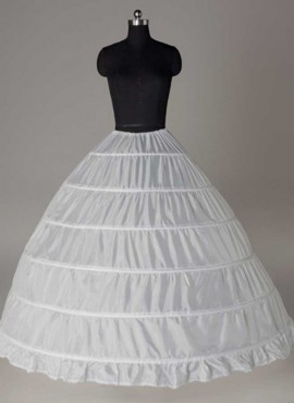 Sottogonna Sposa molto ampio sei cerchi per abiti principeschi