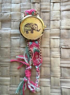 elefantino rosa-orologi donna online economici stile boho chic