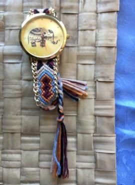 Elefantino-orologi donna online economici portafortuna da spiaggia