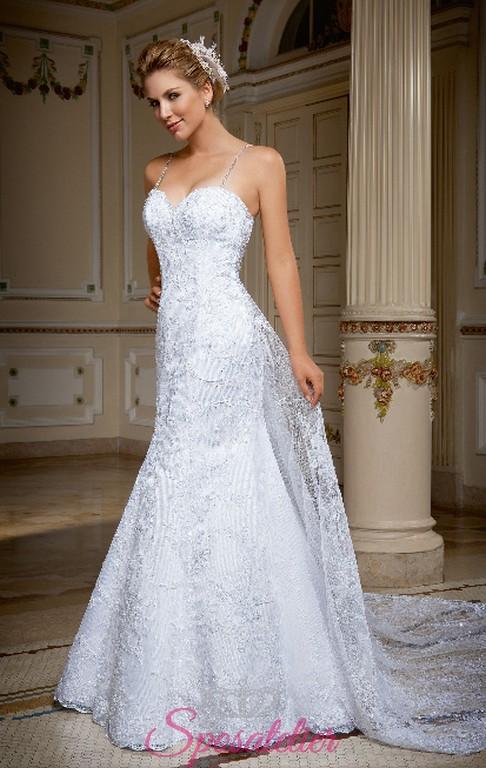 ff47d89bcb38 medea-Vestiti da sposa online Italia economico scollo a cuore strascico  staccabile