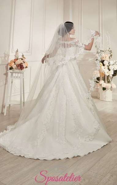 veli da sposa vendita online lungo ricamato classico glamour