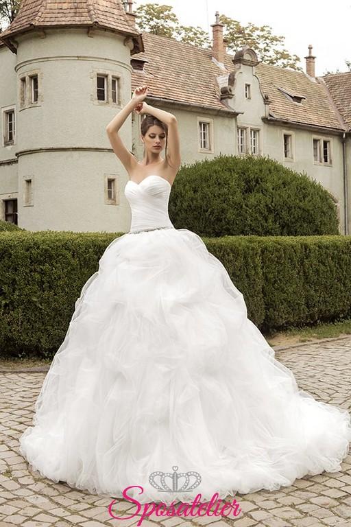 Abito Matrimonio Gipsy : Folien abito da sposa online economico ampio pomposo con