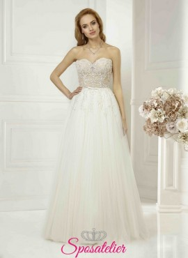 abiti da sposa online economici realizzati su misuraSposatelier  461a5befe04