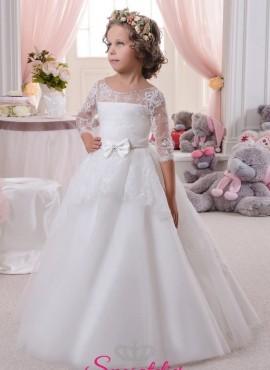 959e8a28d097 bernarda-abiti damigella bambina economici principessa con fiocco. €  194