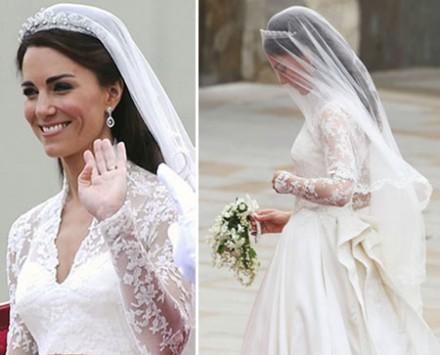 velo sposa della principessa Kate in pizzo economico online