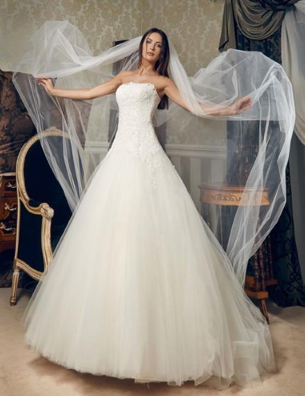 Velo sposa in offerta lungo semplice senza decorazioni
