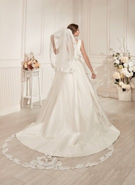 velo da sposa online economico a mantiglia nozze