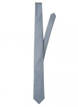 Cravatta a pois uomo in vari colori