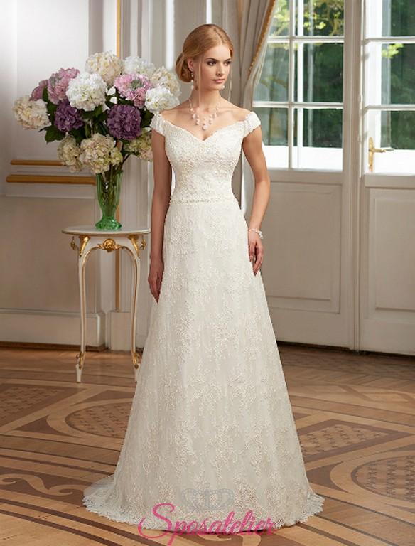 f1a214a940d7 abito da sposa online Salerno su misura ricami in pizzo Italia