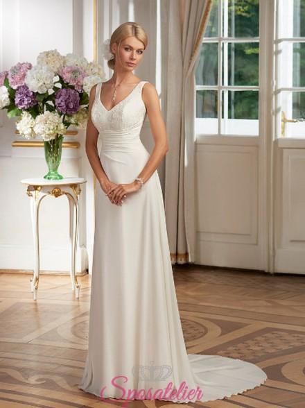 abito da sposa online matrimonio semplicissimo ed elegante