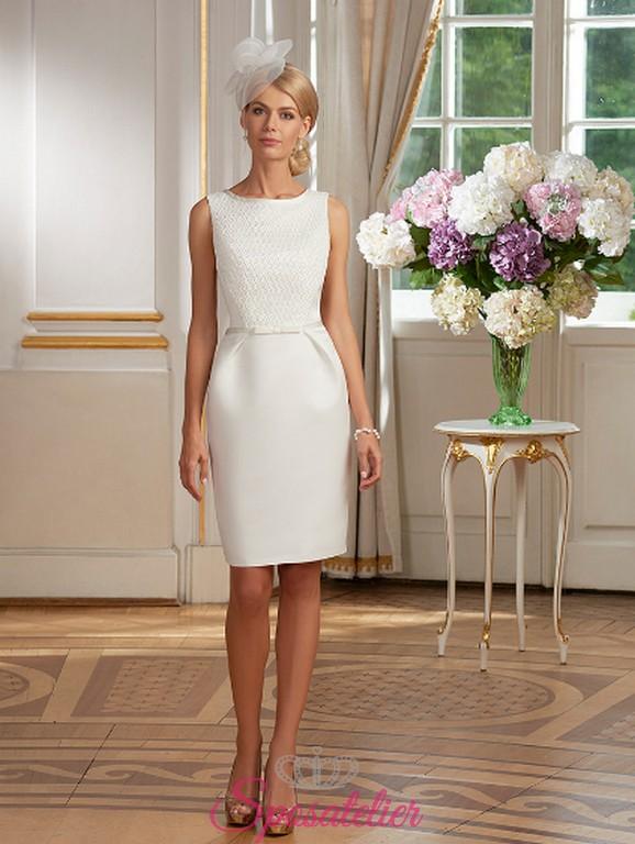 Vestiti Da Sposa Over 50.Abiti Da Sposa Online Italia Corti Anni 50 Matrimonio