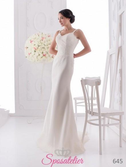 yolasia-sito italiano abiti da sposa economico online in raso a line