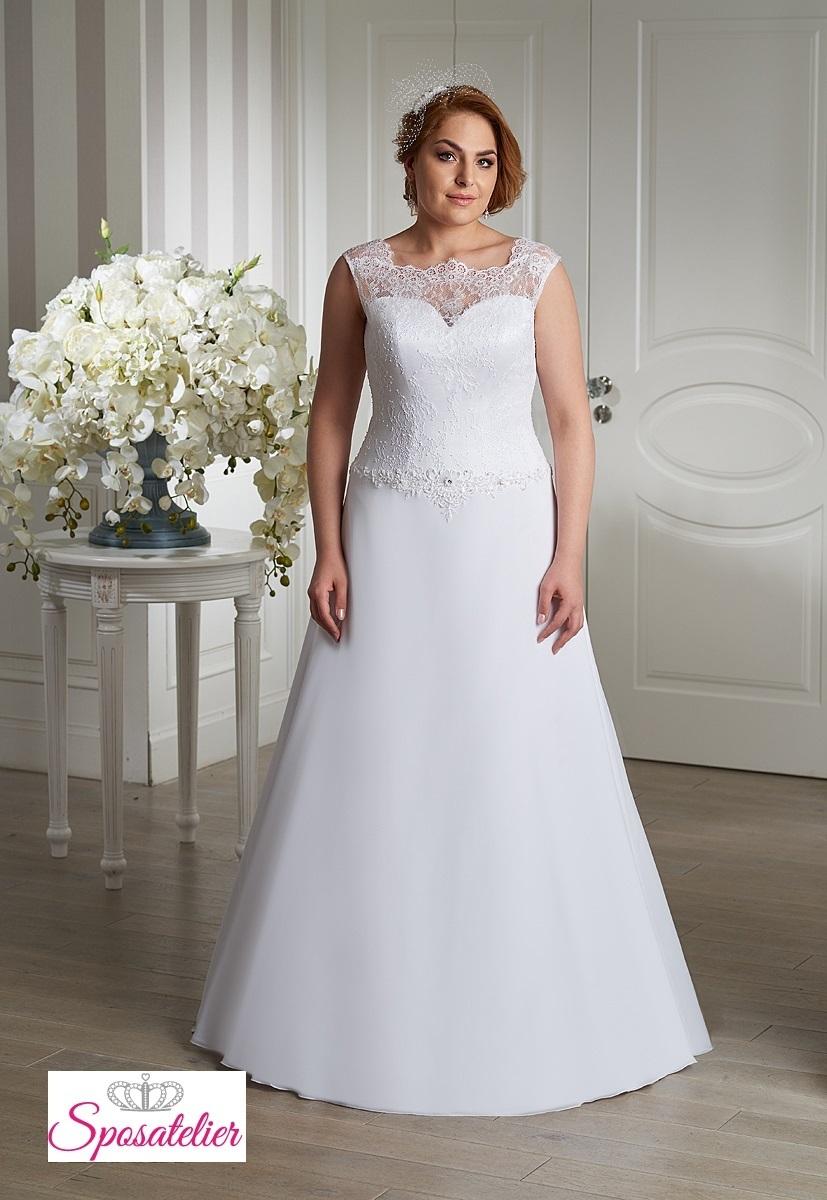 Matrimonio In Spiaggia Italia : Vestiti da sposa taglie extra large elegantissimosposatelier