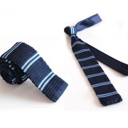 Cravatta a maglia uomo modello R4