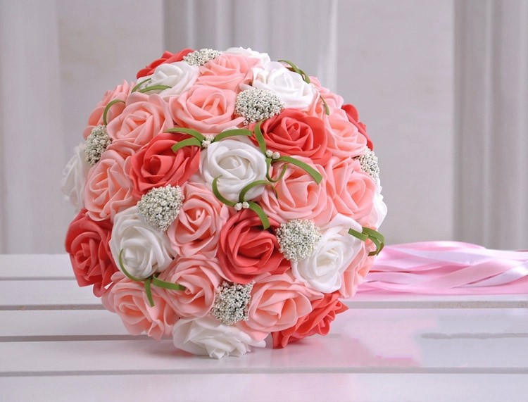 Bouquet Sposa Online.35 Bouquet Sposa 2017 Rose