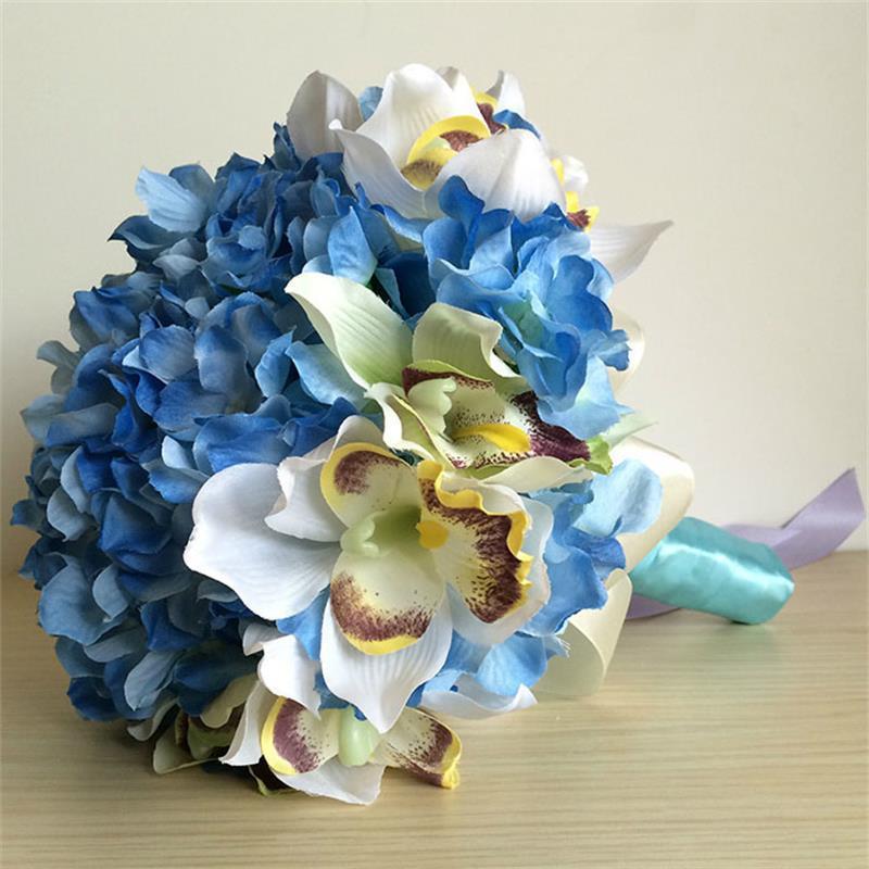 Bouquet Sposa Online.Bouquet Sposa Online Economico Finto Con Orchideesposatelier