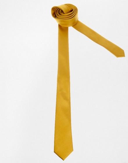 Vendita cravatte online uomo colore giallo