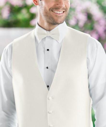 Papillon accessori uomo sposo colore bianco