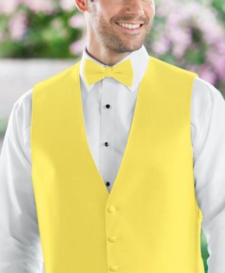 Papillon accessori uomo sposo colore giallo
