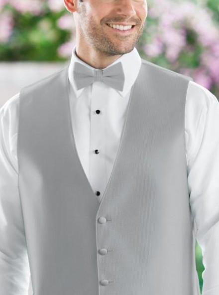 Papillon accessori uomo sposo colore grigio chiaro