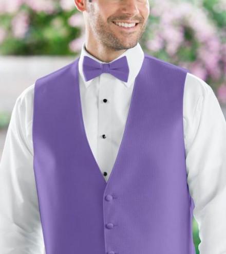 Papillon accessori uomo sposo colore viola