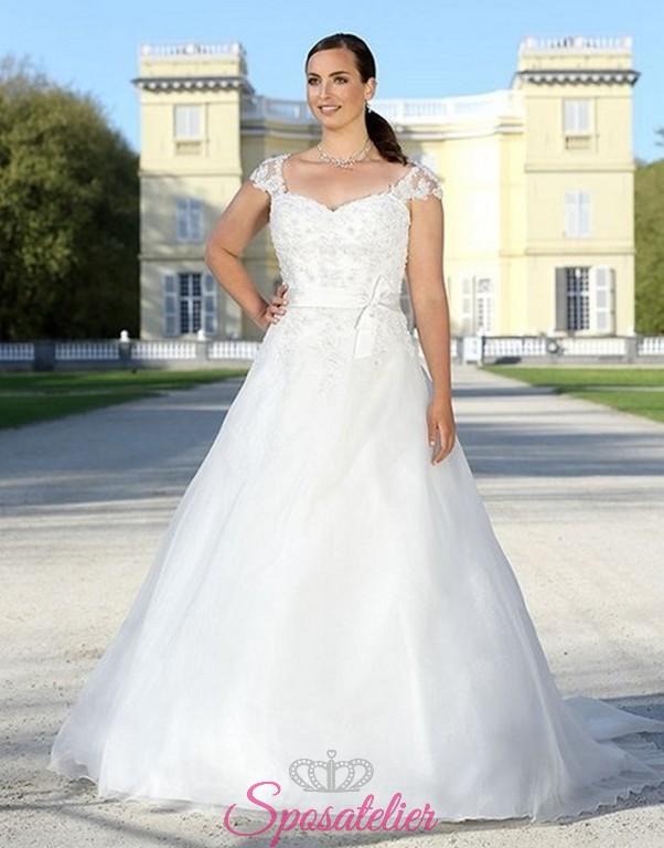 26b362ab65f9 viranda-vestiti da sposa per taglie comode nuova collezione 2017 realizzati  su misura