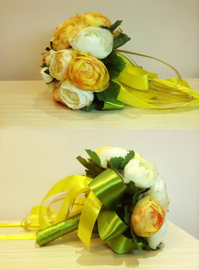 Bouquet Sposa Economico.Bouquet Sposa Di Peonie Arancio E Gialle Online Economico