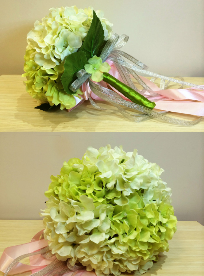 Bouquet Sposa Verde.Bouquet Sposa Verde E Bianco Finto Online Economicosposatelier