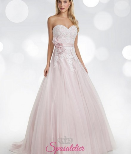 gusia- Abiti da sposa rosa Houghton colorati sito italiano