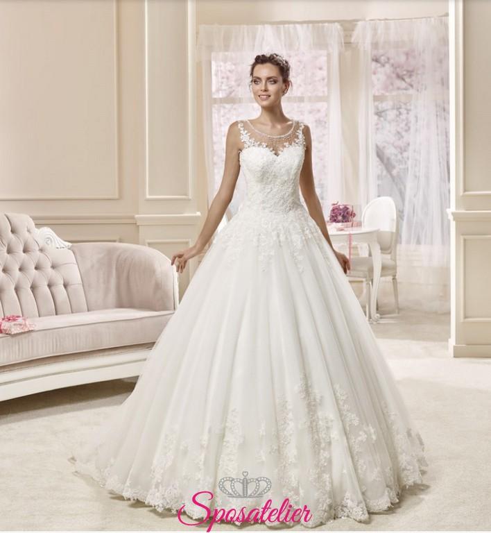 053b4c41eb40 Abiti da sposa scollatura a cuore – Modelli alla moda di abiti 2018
