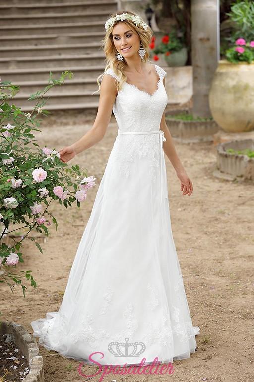 abbastanza gavias- abito da sposa bohémien hippie vintage anni 20Sposatelier FO41