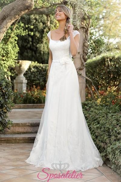 davias- Abiti da sposa matrimonio stile vintage anni 20 online economico