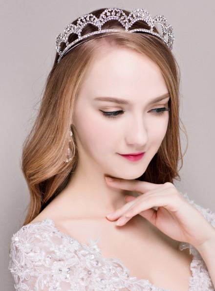 tiara Sposa con strass orecchini online prezzi bassi