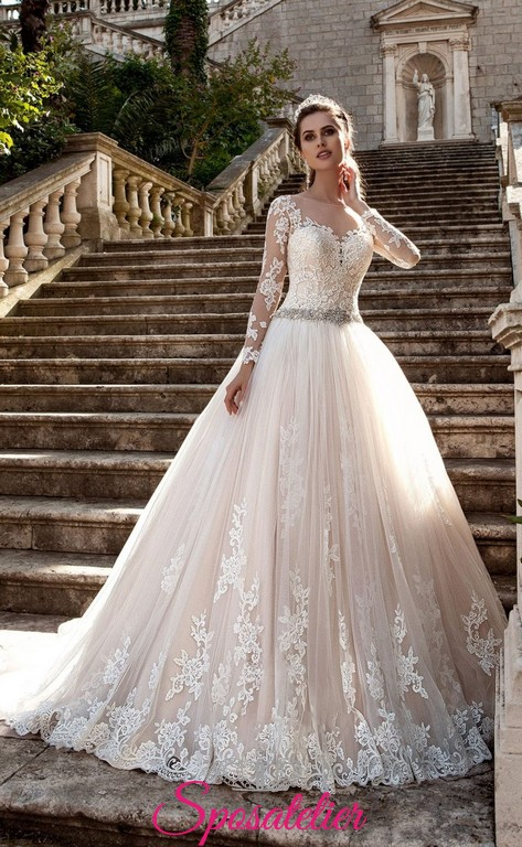 c0b8365f43daf yorma- abito da sposa di lusso per matrimonio a ottobre nuova collezione