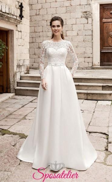 armanda- abito da sposa invernali lowcost online sito italiano economico