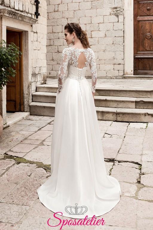 Vestiti Da Sposa Invernali.Armanda Abito Da Sposa Invernali Lowcost Online Sito Italiano