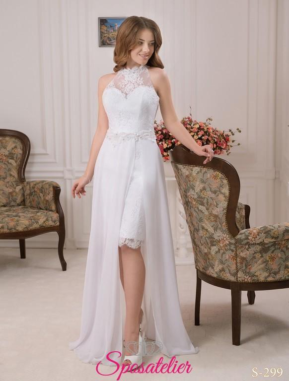 64d609f4b813 pozzuoli- abiti da sposa corti davanti lunghi dietro onlineSposatelier