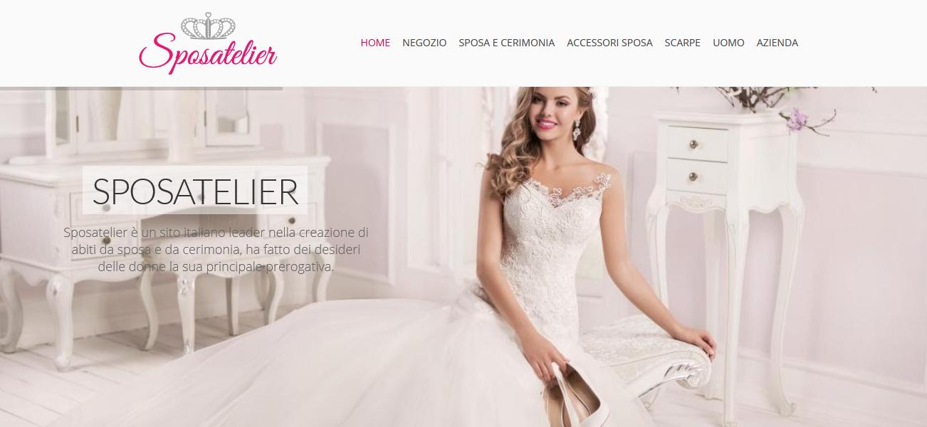 Sceglie di cimentarsi anche nella vendita online offrendo a tantissime  future spose la ... 22e5c0053d9