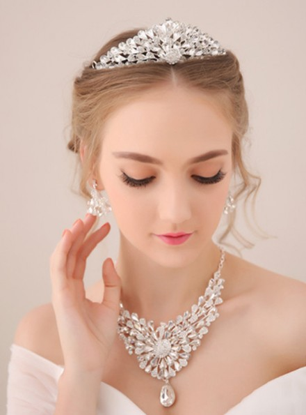 09-Diadema sposa raffinato ed elegante economico online
