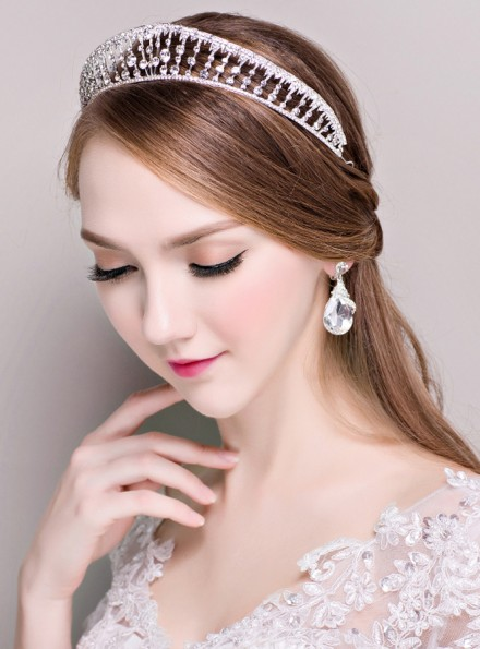04-corona archetto Tiara cerchietto per festa di nozze