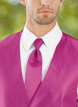 Cravatta a poco prezzo fucsia