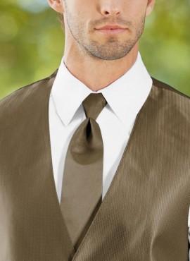 Cravatte classiche marrone misura standard