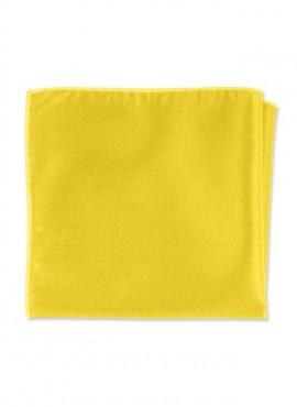 Fazzoletti per taschino giacca giallo