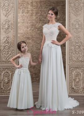 Amina vestito da sposa coordinato alla damigella online