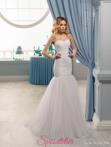 49-vestiti da sposa online 2017 aderente