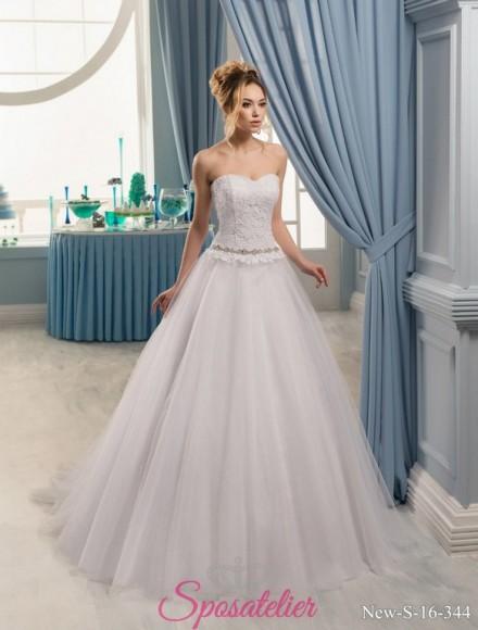 49-vestiti da sposa economici online 2017