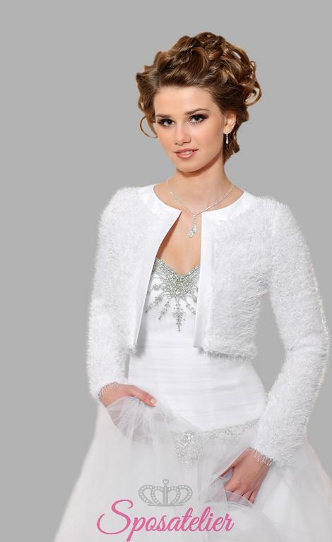 stile squisito miglior fornitore comprare nuovo bolero sposa di lana online economicoSposatelier