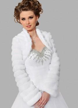 pelliccia  ecologica online da sposa  o cerimonia vendita online