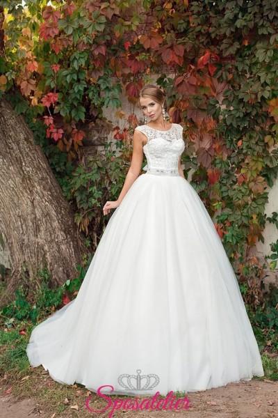 55-abiti da sposa 2017 nuovi modelli on line economici Italia