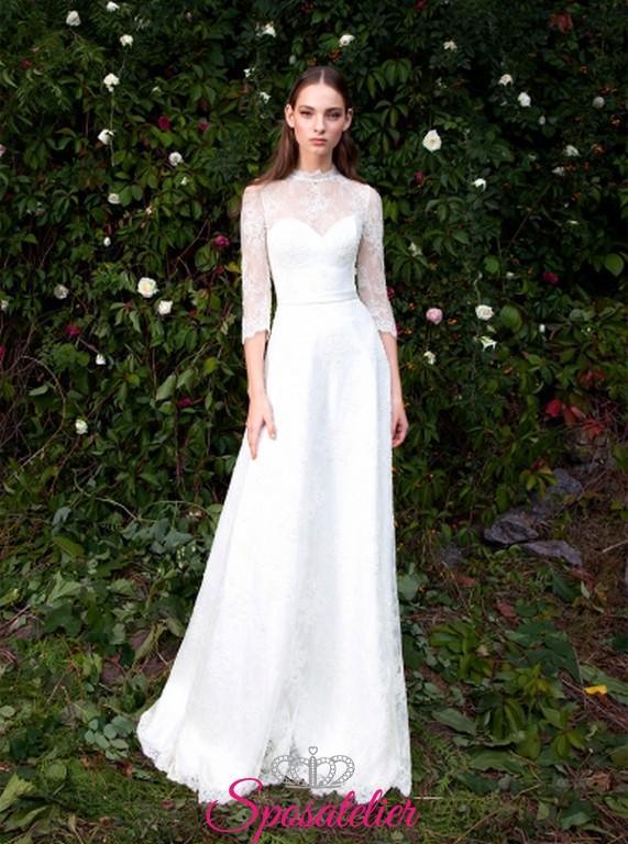 sciara- abiti da sposa scivolati con pizzo acquisto online d8af18183e5